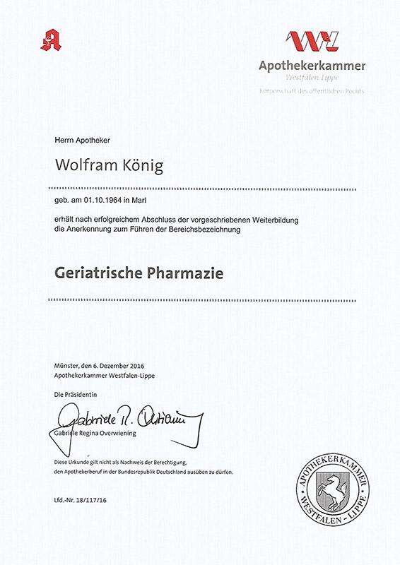 Geriatrische-Pharmazie